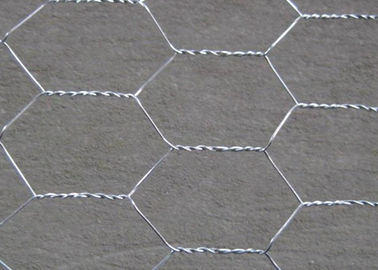 China 3 / 4 ''  Hole Galvanized Wire Hexagonal Wire Mesh , 0 . 5 MM Poultry Mesh Netting supplier