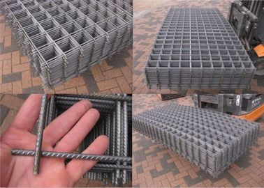 China Reinforcing Steel Welded Mesh Panels 4mm 6mm For Concrete Construction Steel Bar supplier