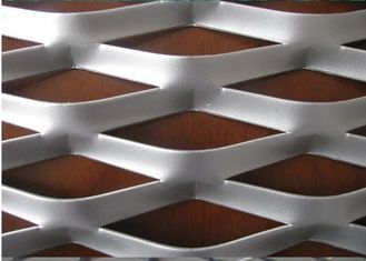 "China 304 316 Stainless Steel Expanded Metal Mesh With Diamond Shape 4 "" * 8 "" supplier"