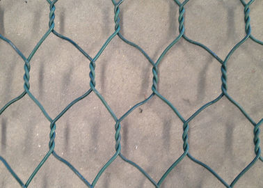 China PVC Coated Chicken Wire Netting , Woven Vinyl Coated Hex Wire Mesh supplier
