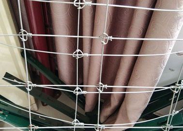 China High Zinc Fixed Knot  Horse Mesh Fencing , 6 FT Tall Steel Cattle Fence supplier