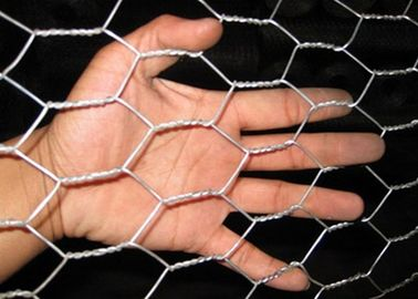 China 60*80mm 100*100mm Hole Size Galvanized Gabion Box Hot Dipped Hesco Wall Hexagonal Wire Mesh supplier