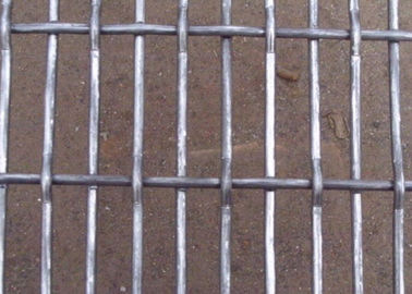 China 0.8 x 5cm High Tensile Crimped Wire Mesh Panel for Pig Bed & Mine supplier