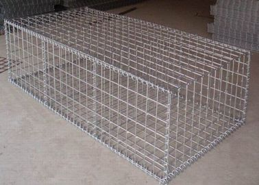 China 1m * 0.5m * 0.5m Galvanized Welded Gabion Box With 4mm Wire anti-crossion supplier