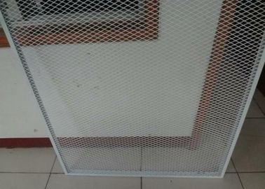 China 2mm Thickness Expanded Metal Mesh Guard  Powder Coated  96inch * 27ft For Window or Door supplier