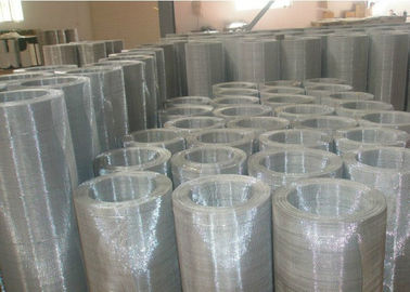 China Stainleee Steel Woven Square Wire Mesh , Square Mesh with 2 Mesh - 635 Mesh supplier