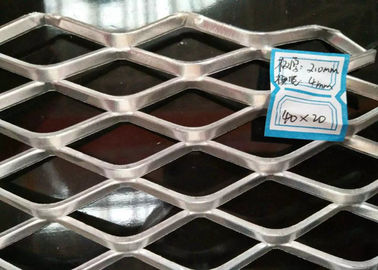 China Hot Dipped Galvanized Expanded metal Mesh With 2 mm Thickness And 18mm × 50mm supplier