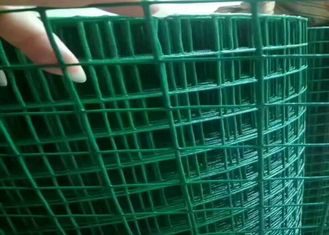 China 3ft 5ft  PVC Coated Welded Wire Mesh Low Carbon Steel For Protection Cage supplier