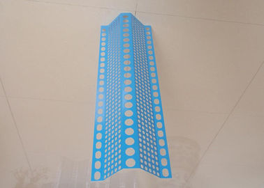 China Uni - modal Blue Perforated Metal Wire Mesh Powder Coated Anti Wind Dust  0 . 8 Thickness supplier