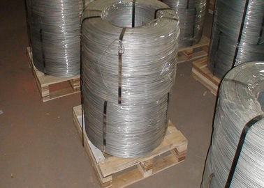 China Galvanized Carbon Steel Wire With Q195 Material 21 BWG Wire Diameter supplier