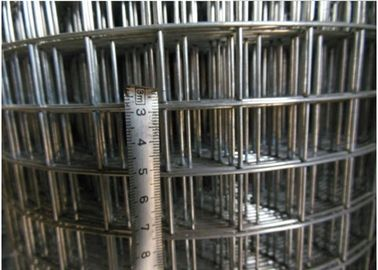 China Electric Galvanized Welded Wire Mesh Grid Iron Thick Gauge Wire Mesh 24 Gauge Square Roll supplier