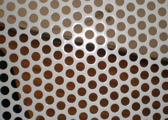 China 2MM Thickness Galvanized Perforated Metal Mesh for Decoration Door Screen supplier