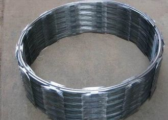 China Hot Dip Galvanized Concertina Razor Wire CBT-65 Stainless Steel High Security supplier