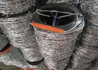 China Hot Dipped Galvanized Barbed Wire Corrosion Reistance for Agricultural Fencing supplier