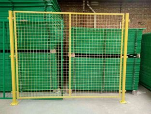 China 50*100mm Hole Temporary Wire Mesh Fence For Guardrail , 1.8m - 2m Width supplier