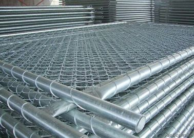 China Hot Dip Galvanized Temporary Metal Wire Mesh Fence For Australia supplier