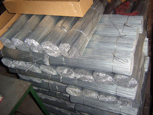 "China 27"" Length Construction Carbon Steel Wire Galvanized Straight Tie Wire 21 BWG supplier"