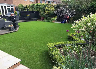 China Height 3 / 4 Inch Artificial Putting Green , Landscaping Artificial Lawn Grass supplier