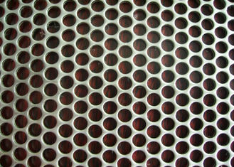 China 0.8 Mm Diameter Perforated Metal Mesh Round Hole Punched Mesh Aluminum Plate supplier