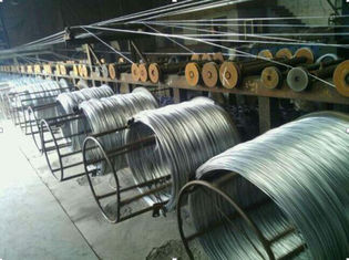 China 20 - 22 Guage Q195 Carbon Steel Wire Electro Galvanized Iron Binding Wire For Construction supplier