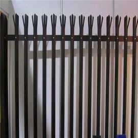 China Powder Coated Euopean Type Wire Netting Fence Guardrail / Palisade Fence supplier