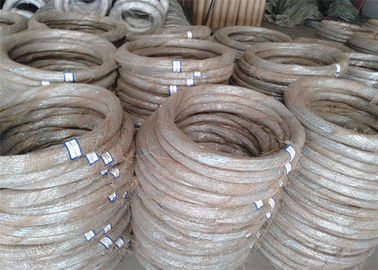 China Electro Galvanized Iron Wire , Carbon Steel Welding Wire SWG 14* 10KG / Roll supplier