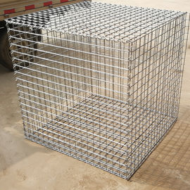 China 1m x 1m x 0.5m Hot Dipped Galvanized Welded Gabion Box for Retaining  Stone supplier