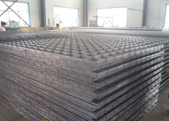 China Low Carbon Steel 3MM*50MM*50MM*1M*2M Reinforcing Welded Wire Mesh supplier