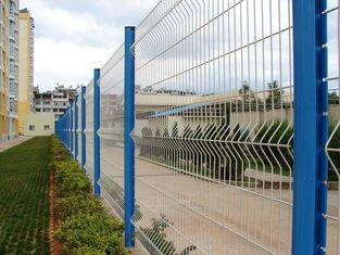 China Powder Coating Triangular Bending Welded Mesh Fence / Garden Fence Wire Mesh supplier