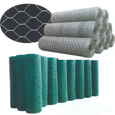 China 0 . 7 MM Diameter Hexagonal Chicken Wire Mesh 3 / 4 Inch 30 M Roll supplier