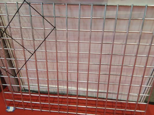 China 3.0 mm Flat Surface Powder Coated Wire Mesh Panels Durable For Construction supplier
