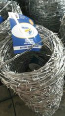 China 2mm * 2mm Galvanized Barbed Wire Fence Farm Barbed Wire Fence supplier
