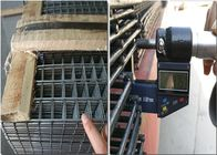 China 1x2 Reinforcing Woven Welded Wire Mesh Panels Sheets For Concrete factory