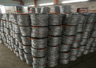 China 12 # * 14 # Diameter  Hot Dip Galvanized Barbed Wire With Stab For Protection Fence factory