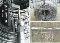 China Hot Dipped Galvanized Woven Field Fencing / Grassland Fence For Deer Fence 2.5mm Wire Diameter*20CM*20CM factory