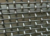 China Stainless Steel Crimped Wire Mesh With 4 mm Wire Diameter With 1 . 5 m × 2 m Size factory