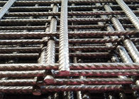 China 6x6 Reinforcing Welded Wire Mesh Panels Low Carton Steel With 10 Gauge Wire factory