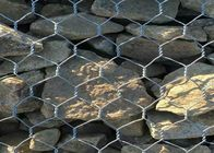 China Low Carbon Steel Wire Gabion Cages For Rock Retaining Walls , Wire Gabion Baskets factory