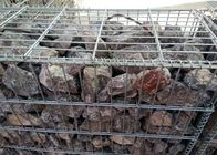 China Iron Wire Galvanized Gabion Box / High Security Gabion Wire Mesh Panels factory