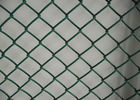 China 2'' Aperture Dark Green Chain Link Security Fence Roll For Outdoor Fencing factory