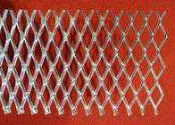 China 0 . 3 mm - 2 . 0 mm Thickness Flattened Expanded Metal Mesh With Power Coated factory