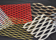 China 0 . 4 mm - 5 . 0 mm Powder Coated Decorative Expanded Metal Mesh 4 FT X 33 FT factory
