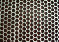 China 0.8 Mm Diameter Perforated Metal Mesh Round Hole Punched Mesh Aluminum Plate factory