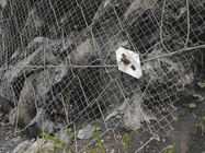 China SNS Slope 1770MPA Rockfall Protection Steel Wire Mesh Fence Corrosion Resisting factory