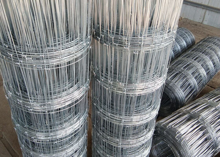 Electro Galvanized Hinge Joint Woven Field Fence For Grassland In ...