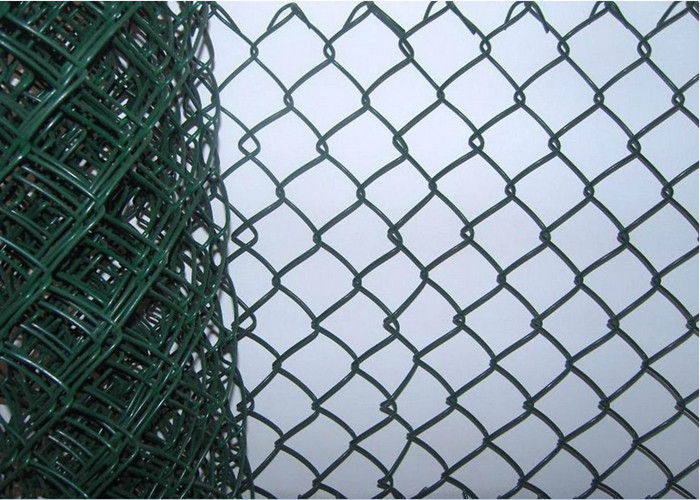 8 Foot Residential Chain Link Fencing , Portable Protective Mild ...