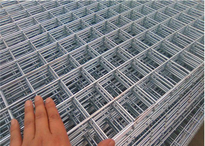 4 X 4 Inch Rebar Welded Wire Mesh Panels 2 M X 4 M For