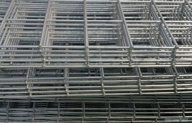 China Electro Galvanized Welded Wire Mesh Sheet , 1x2 Custom Wire Grid Panels For Building factory