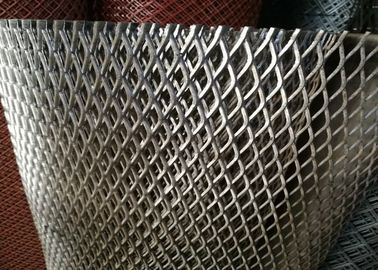 China Heavy Duty Streched Expanded Metal Mesh 6mm Thickness 11.5kgs / M2 For Walkway factory