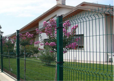 PVC Coated Wire Mesh Fence with 4 mm Wire Diameter 50mm × 200mm Mesh